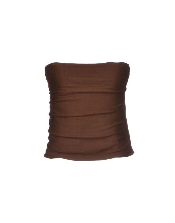 棕色 SEMI-COUTURE 抹胸