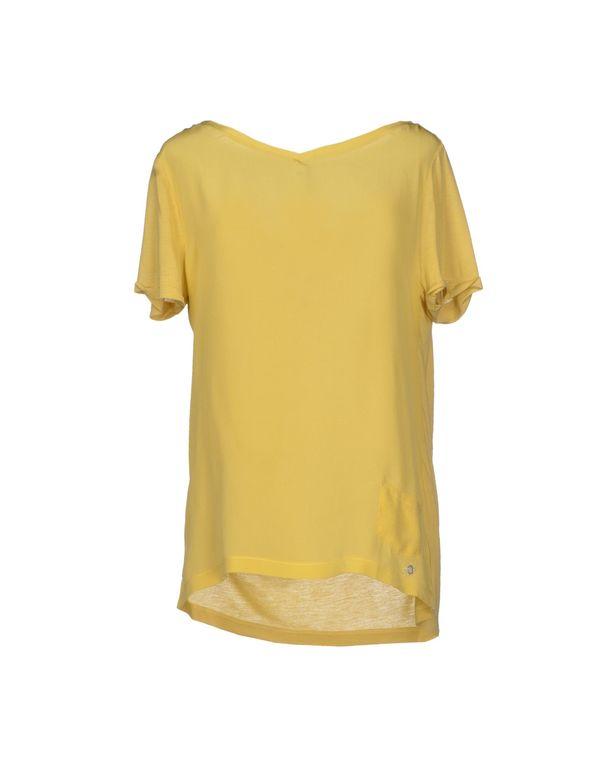 黄色 WOOLRICH T-shirt