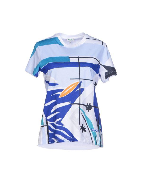 天蓝 KENZO T-shirt