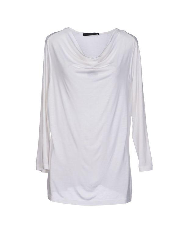 白色 LES COPAINS T-shirt