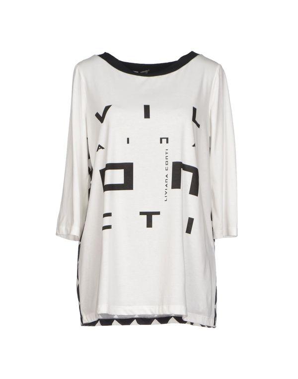 白色 LIVIANA CONTI T-shirt
