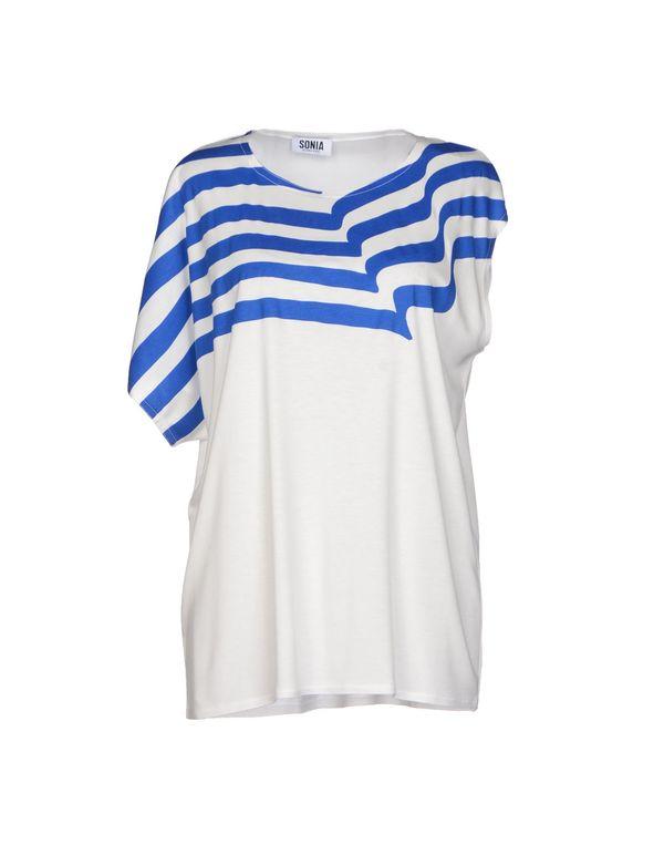 白色 SONIA BY SONIA RYKIEL T-shirt