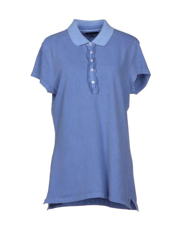 石青色 TOMMY HILFIGER Polo衫