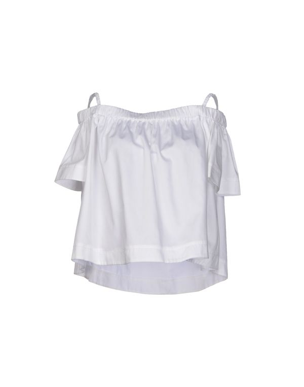 白色 TARA JARMON 女士衬衫