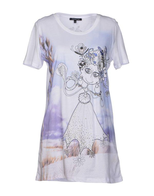 白色 PATRIZIA PEPE T-shirt