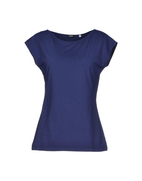 蓝色 ASPESI T-shirt