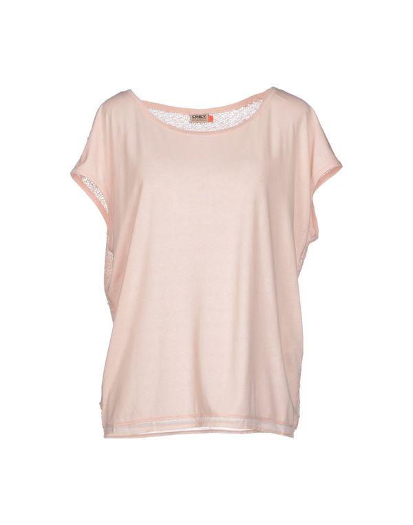 浅粉色 ONLY T-shirt