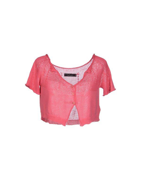 粉红色 TWIN-SET SIMONA BARBIERI 短套衫