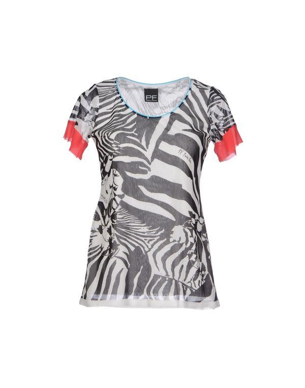 黑色 PF PAOLA FRANI T-shirt
