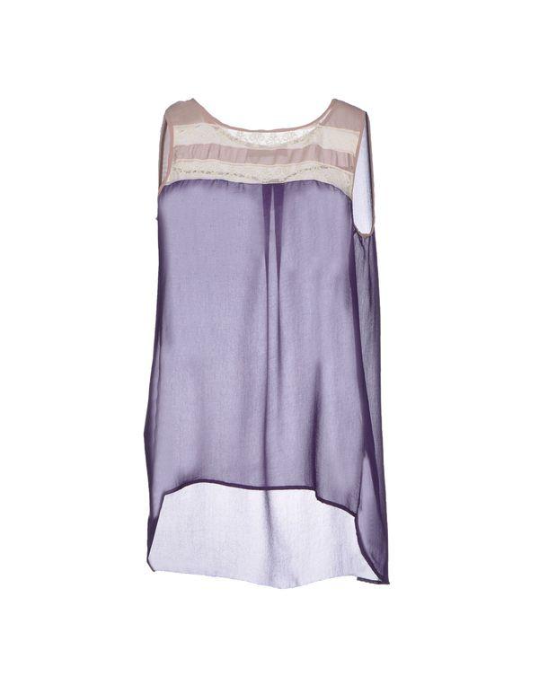 紫色 SCRUPOLI 上衣