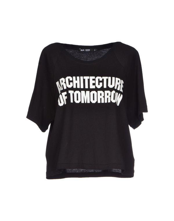 黑色 BLK DNM T-shirt