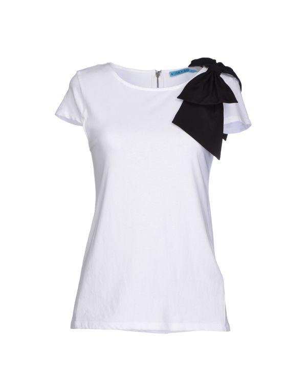 白色 ALICE+OLIVIA T-shirt