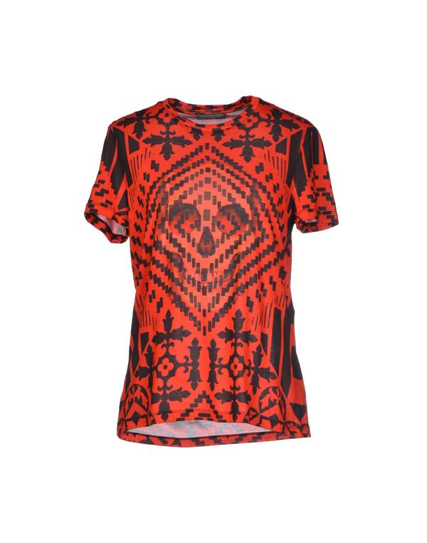 红色 ALEXANDER MCQUEEN T-shirt