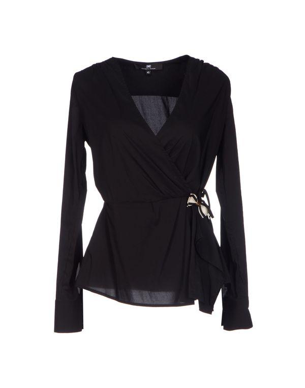 黑色 ELISABETTA FRANCHI 24 ORE 女士衬衫