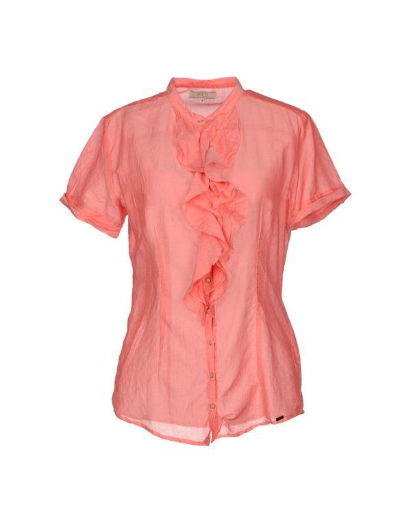 珊瑚红 GUESS Shirt