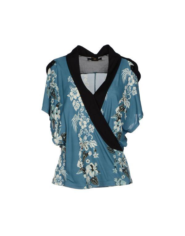 粉蓝色 JEAN PAUL GAULTIER FEMME T-shirt