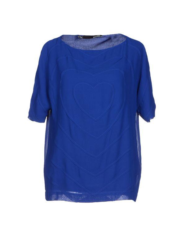 蓝色 LOVE MOSCHINO 女士衬衫