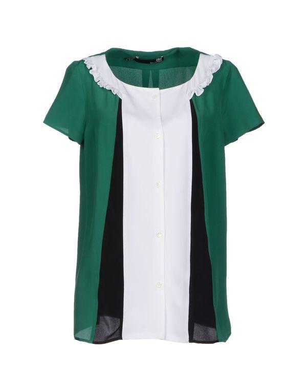 绿色 LOVE MOSCHINO Shirt
