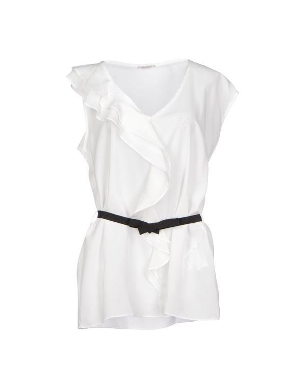 白色 NOSHUA 女士衬衫