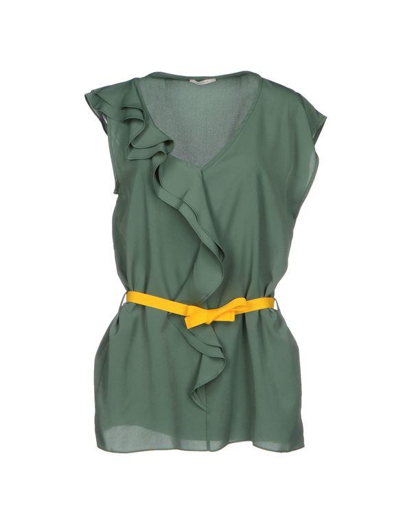 绿色 NOSHUA 女士衬衫