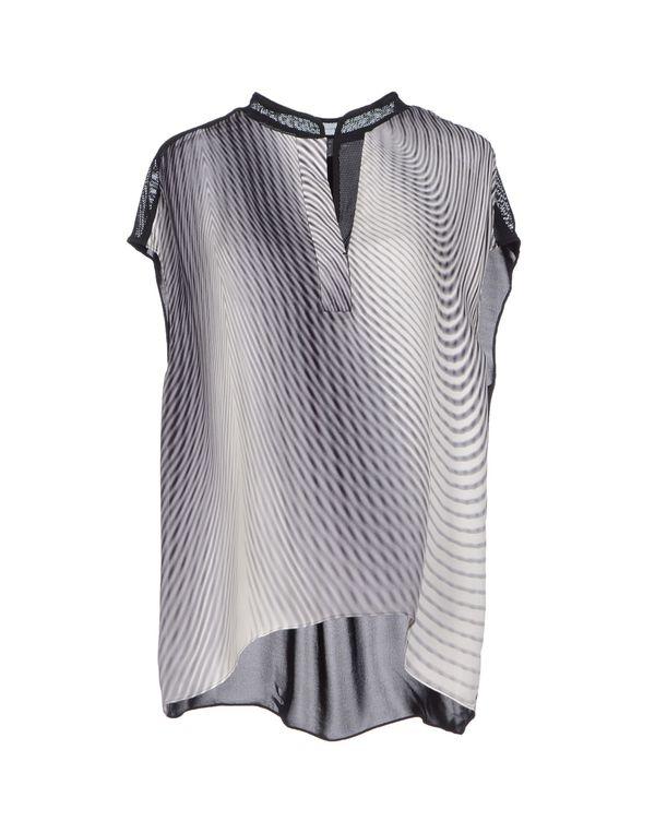 灰色 ELIE TAHARI 女士衬衫