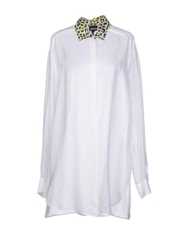 白色 JUST CAVALLI Shirt