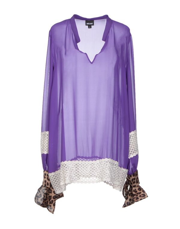 紫色 JUST CAVALLI 女士衬衫