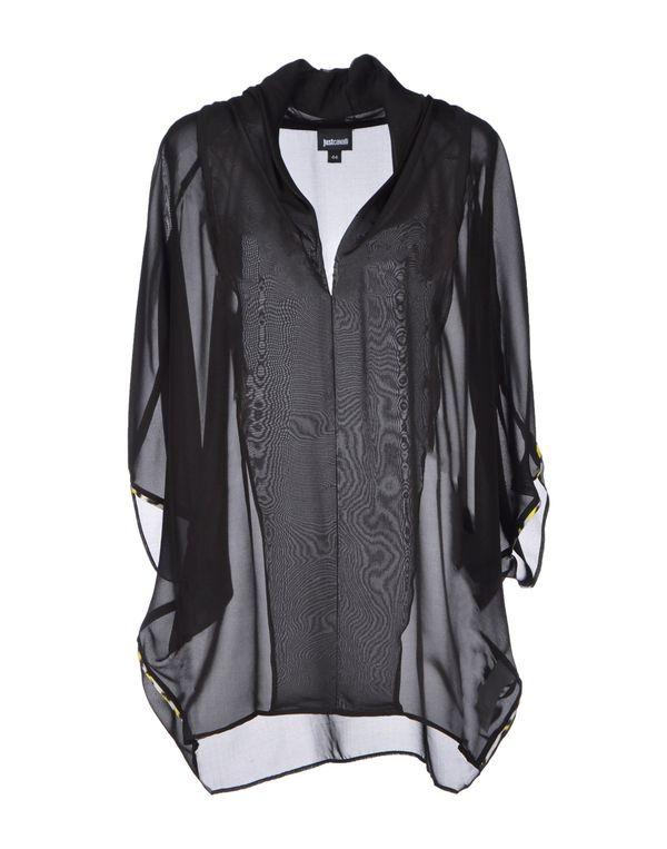 黑色 JUST CAVALLI 女士衬衫