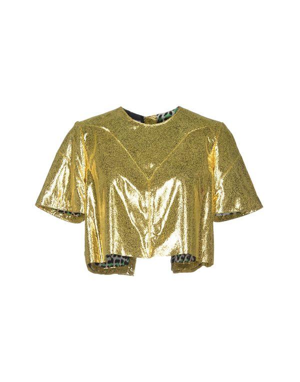 金色 JUST CAVALLI 女士衬衫
