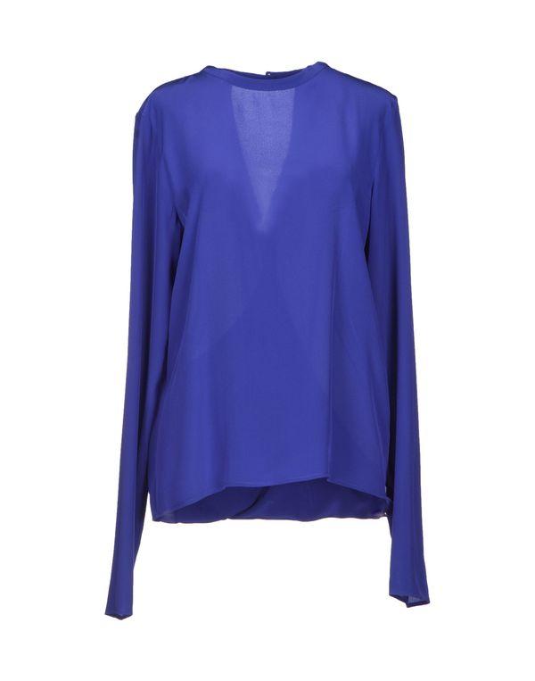 蓝色 MAISON MARTIN MARGIELA 4 女士衬衫