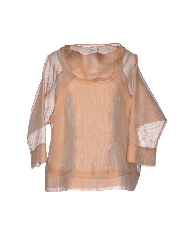 沙色 ARMANI COLLEZIONI 女士衬衫