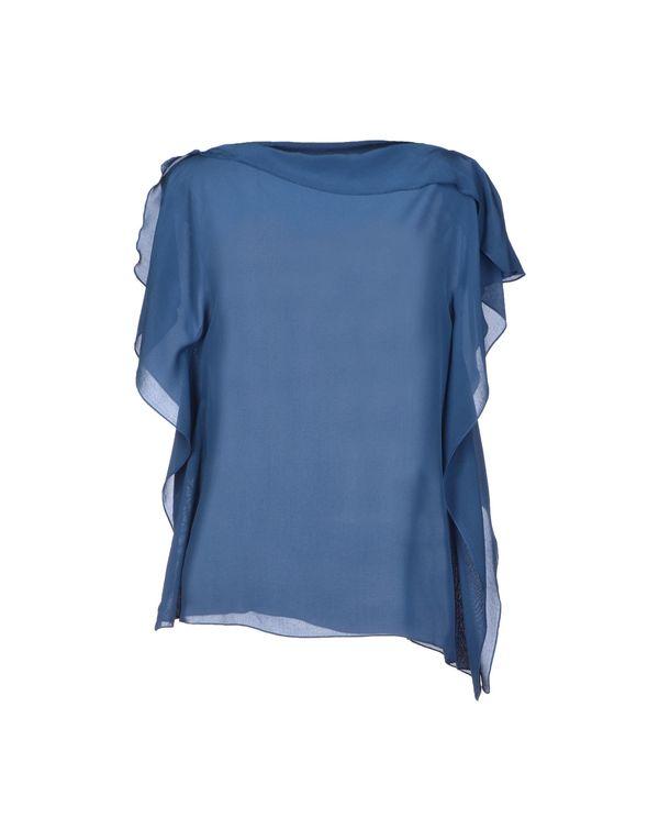 蓝色 BRIAN DALES 女士衬衫