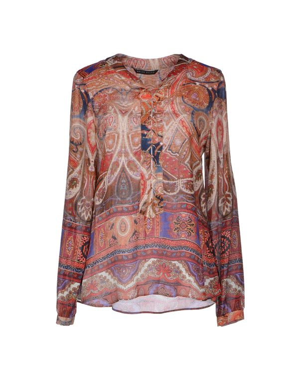 砖红 BRIAN DALES 女士衬衫