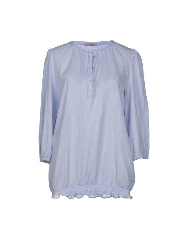 天蓝 PINKO GREY 女士衬衫