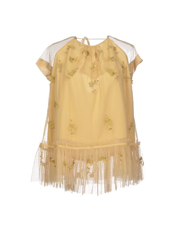 黄色 TWIN-SET SIMONA BARBIERI 女士衬衫