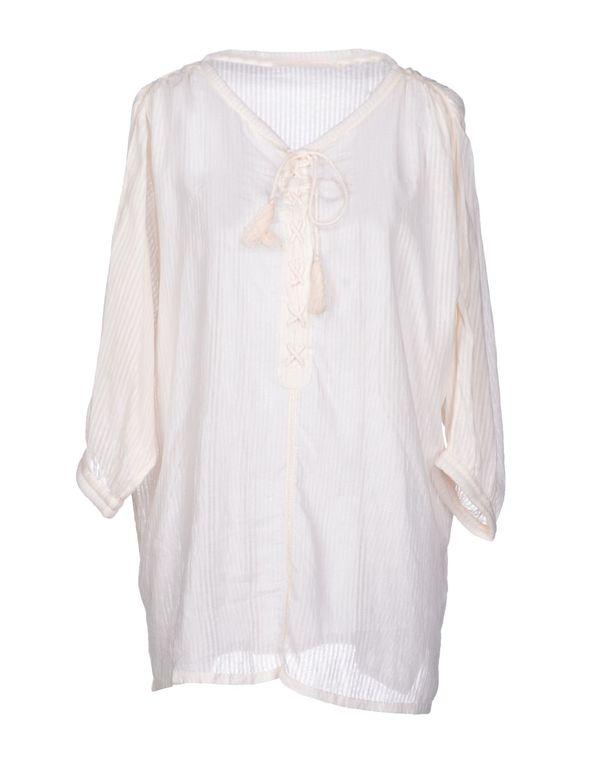 象牙白 VIRGINIE CASTAWAY 女士衬衫