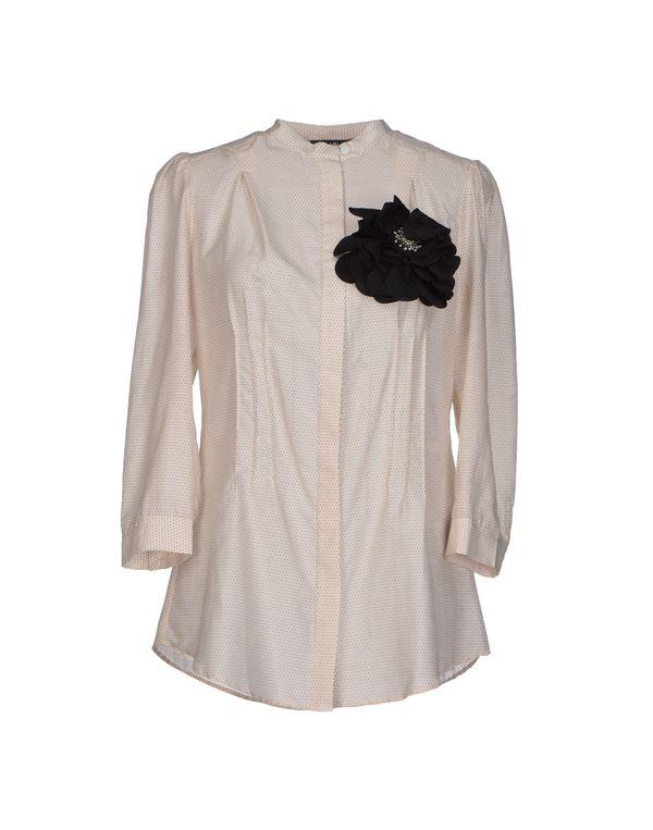 象牙白 LIU •JO Shirt