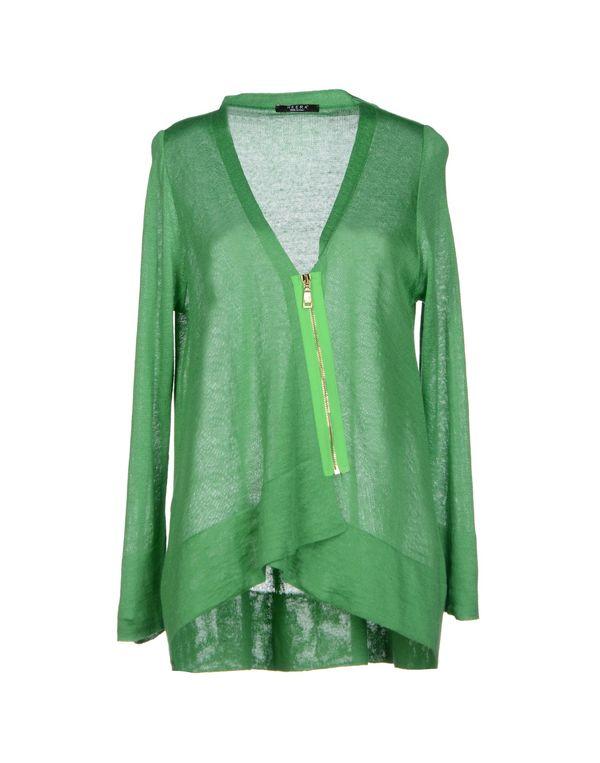 绿色 NEERA 针织开衫