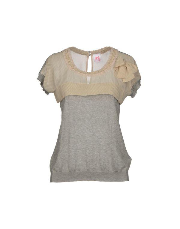 灰色 SCEE BY TWIN-SET 套衫
