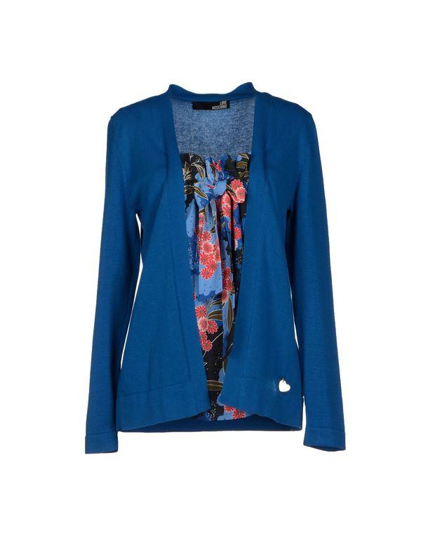 蓝色 LOVE MOSCHINO 套衫