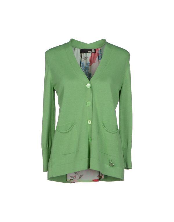 浅绿色 LOVE MOSCHINO 针织开衫