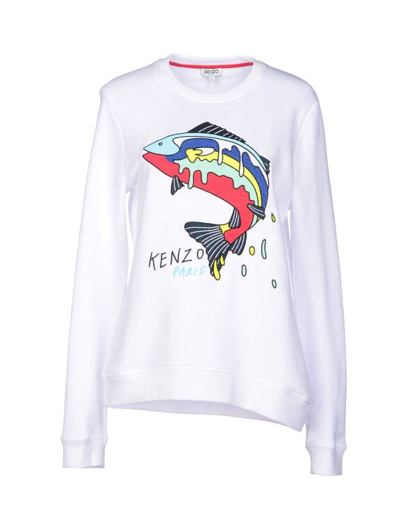 白色 KENZO 运动服