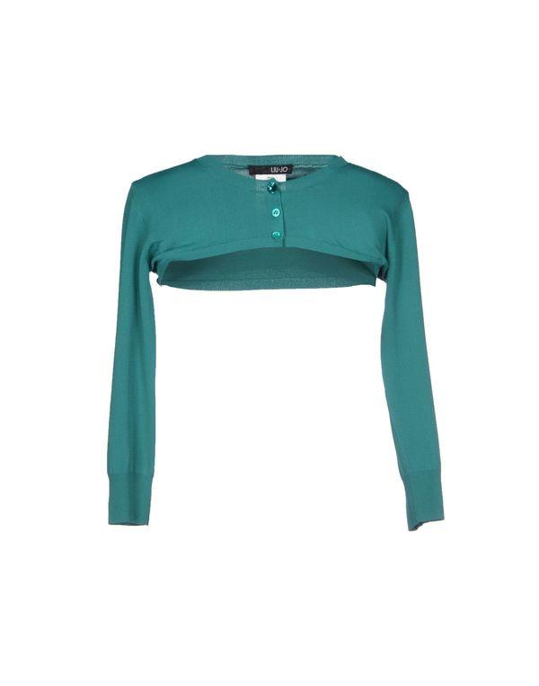 绿色 LIU •JO 短套衫