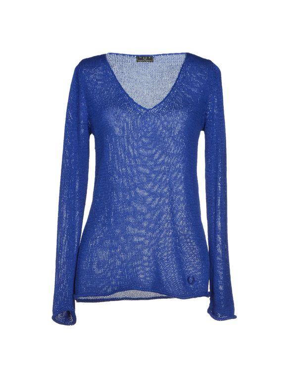 蓝色 FRED PERRY 套衫