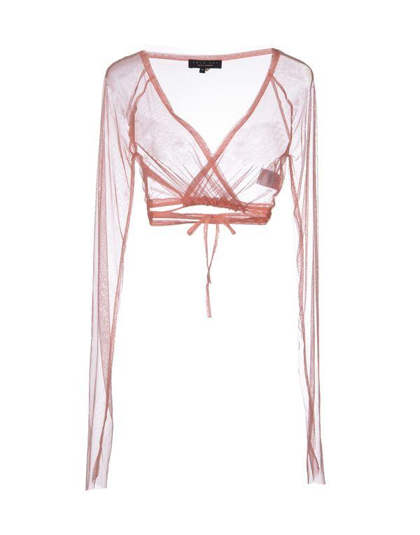 水粉红 TWIN-SET SIMONA BARBIERI 短套衫