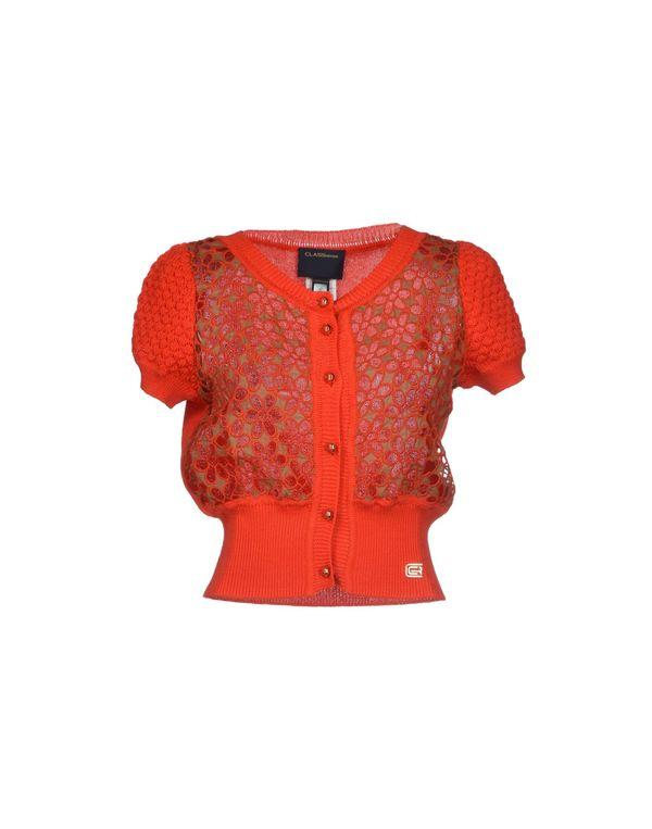 橙色 CLASS ROBERTO CAVALLI 针织开衫