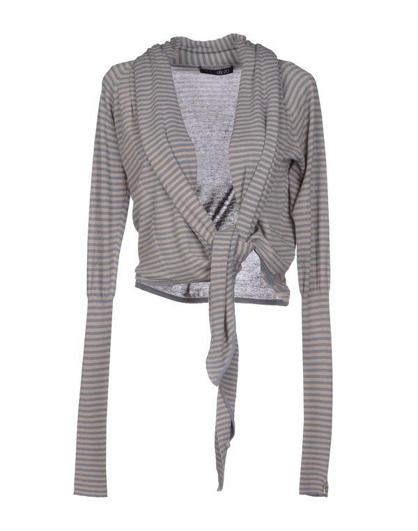 石青色 LIU •JO 针织开衫
