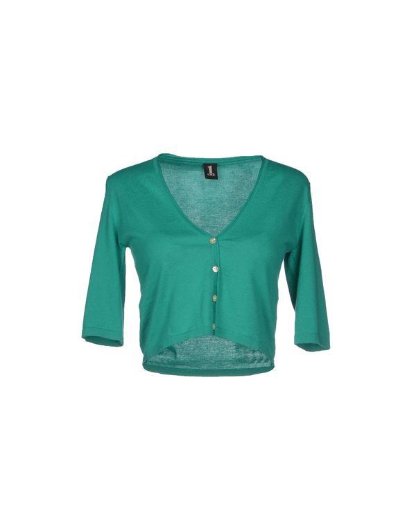 绿色 1 ONE 短套衫