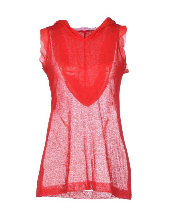 红色 KAOS 套衫