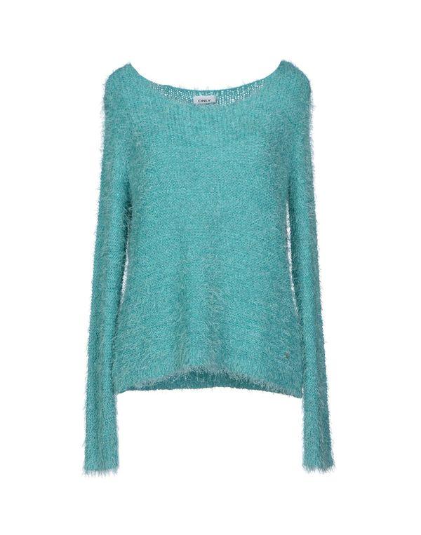 蓝绿色 ONLY 套衫